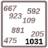 Arbeitsblatt: Übung 1031