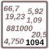Arbeitsblatt: Übung 1094
