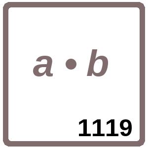 Arbeitsblatt: Übung 1119