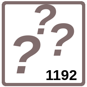 Arbeitsblatt: Übung 1192
