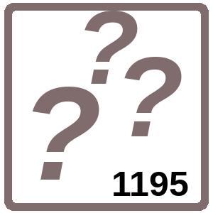 Arbeitsblatt: Übung 1195