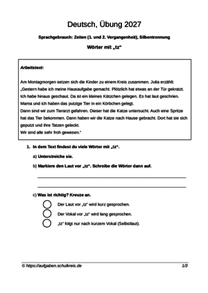 klassenarbeiten und bungsbl tter deutsch grundschule klasse 4 kostenlos zum ausdrucken. Black Bedroom Furniture Sets. Home Design Ideas